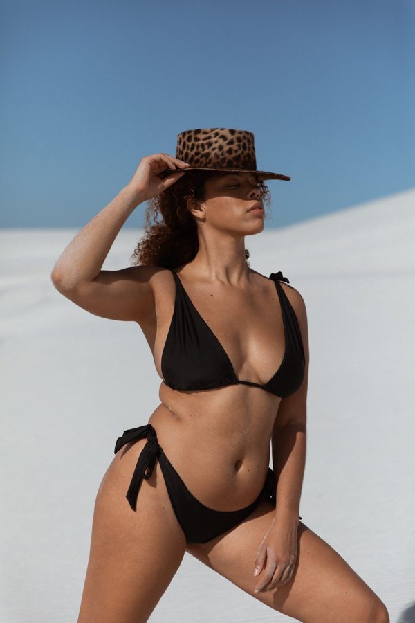 Luna bikini set in black